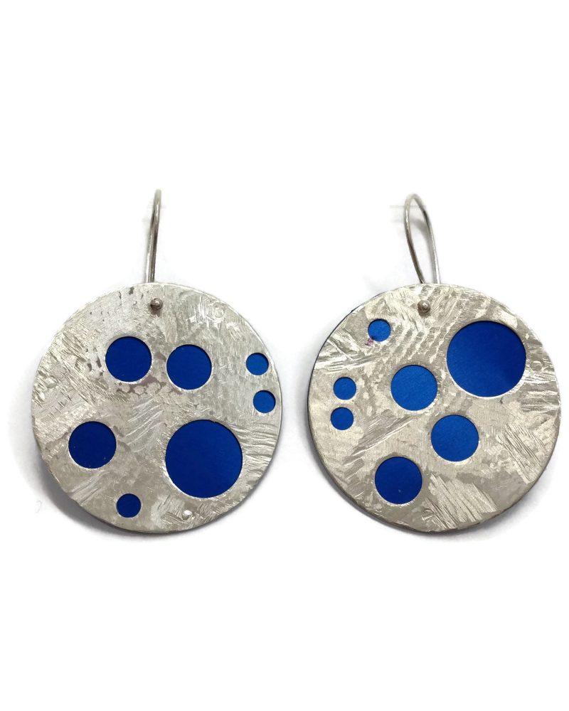 Polka dots - blue